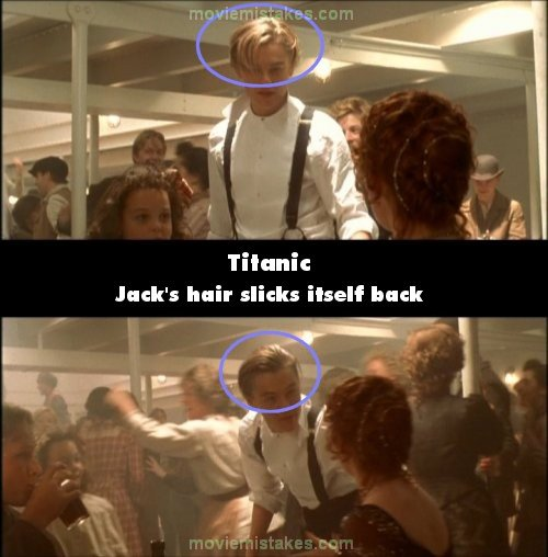 Titanic Mistake