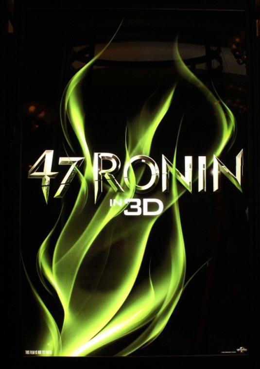 47 Ronin poster 3D