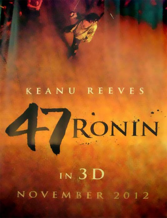 47 Ronin old poster
