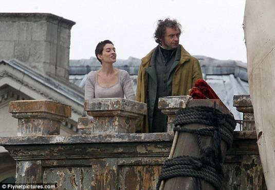 Anne and Hugh on Les Miserables Set2