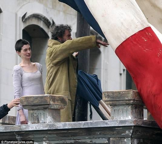 Anne and Hugh on Les Miserables Set3