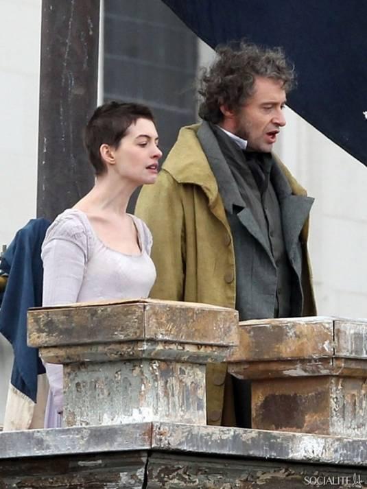 Anne and Hugh on Les Miserables Set4