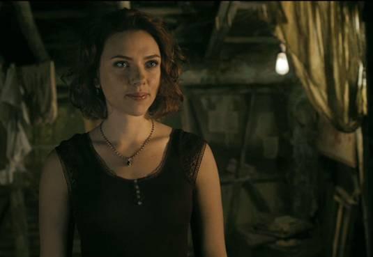 Black Widow finding Bruce Banner