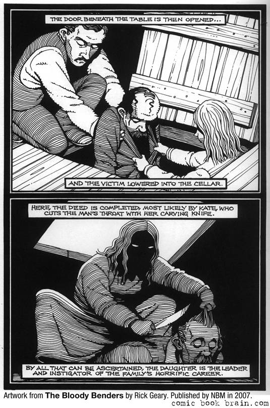 Bloody Benders_Rick Geary Page