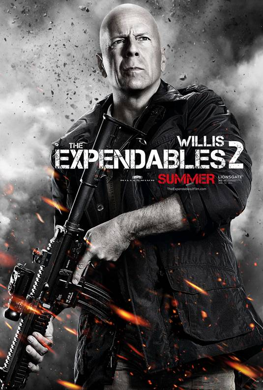 Expendables 2 _ Bruce Willis Poster