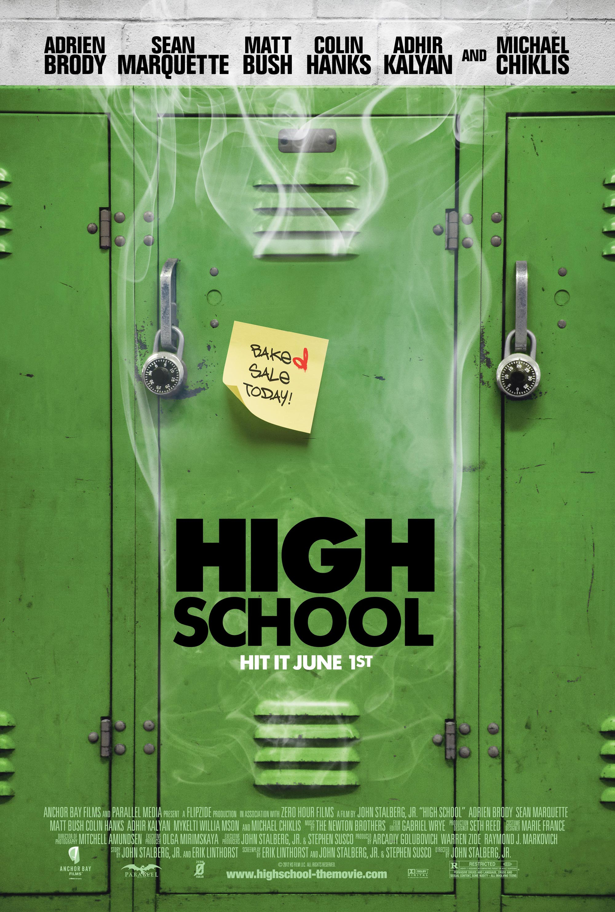 New HIGH SCHOOL Poster