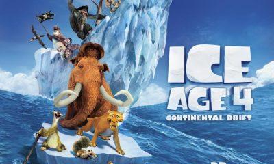 IcIce Age: Continental Drift Quad Poster