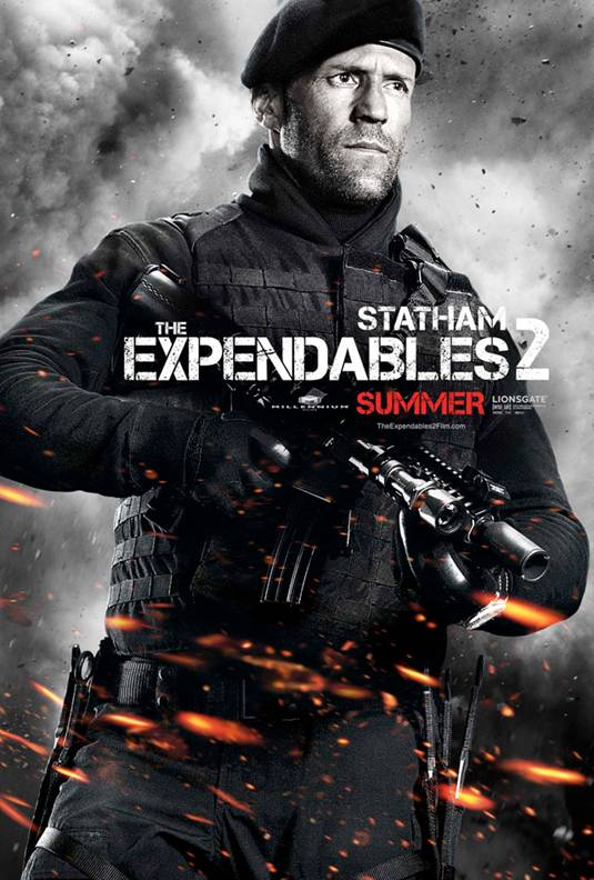 Expendables 2 _ Jason Statham  Poster