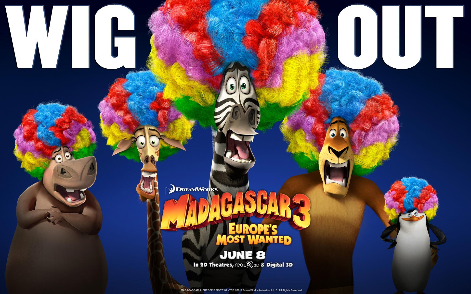 Madagascar 3: Europe's Most Wanted Movie Wallpapers
