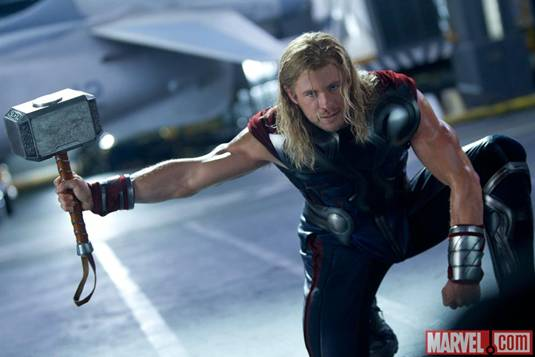 The Avengers_C.Hemsworth as Thor 2
