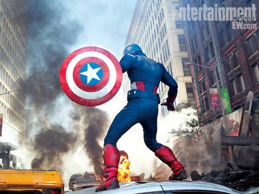 The Avengers_Chris Evans as Captain America