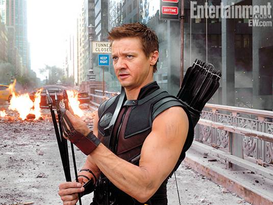 The Avengers_J.Renner as Hawkeye 2