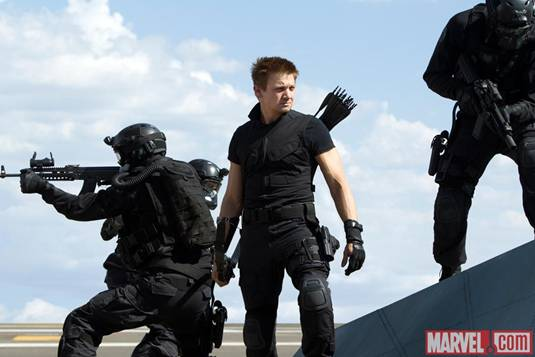 The Avengers_J.Renner as Hawkeye