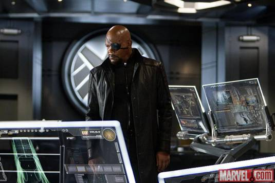 The Avengers_S.L.Jackson as Nick Fury