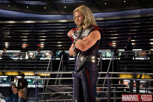 The Avengers_C.Hemsworth as Thor