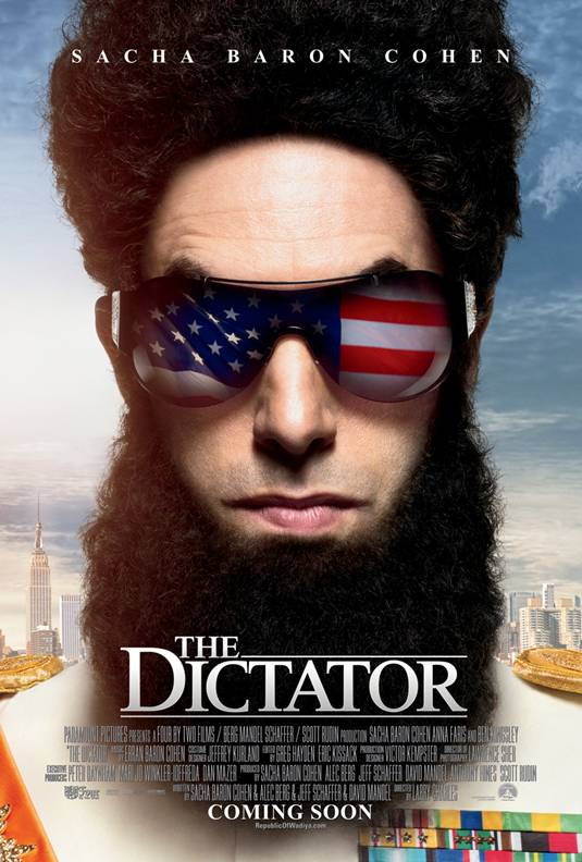 The Dictator - New Poster