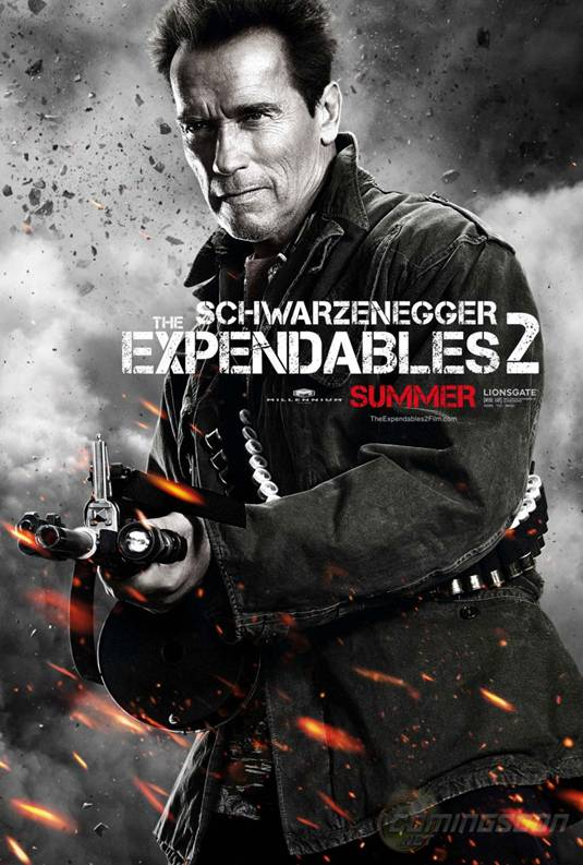 The Expendables 2_Arnold Schwarzenegger Poster