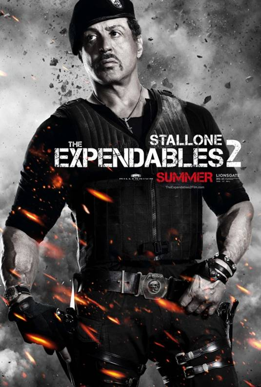 The Expendables 2_Sylvester Stallone Poster