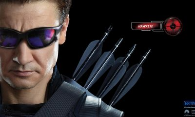 Avengers wallpaper, Hawkeye