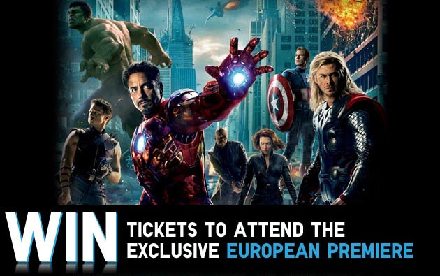 The avengers win tickets to the european premiere for Tour avengers