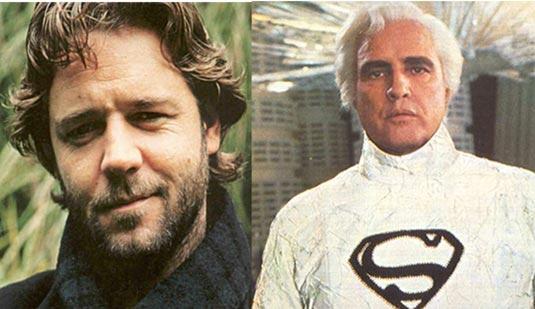 Russell Crowe or Marlon Brando as Jor-El