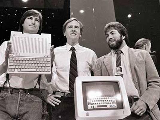 Steve Jobs-John Sculley-Steve Wozniak