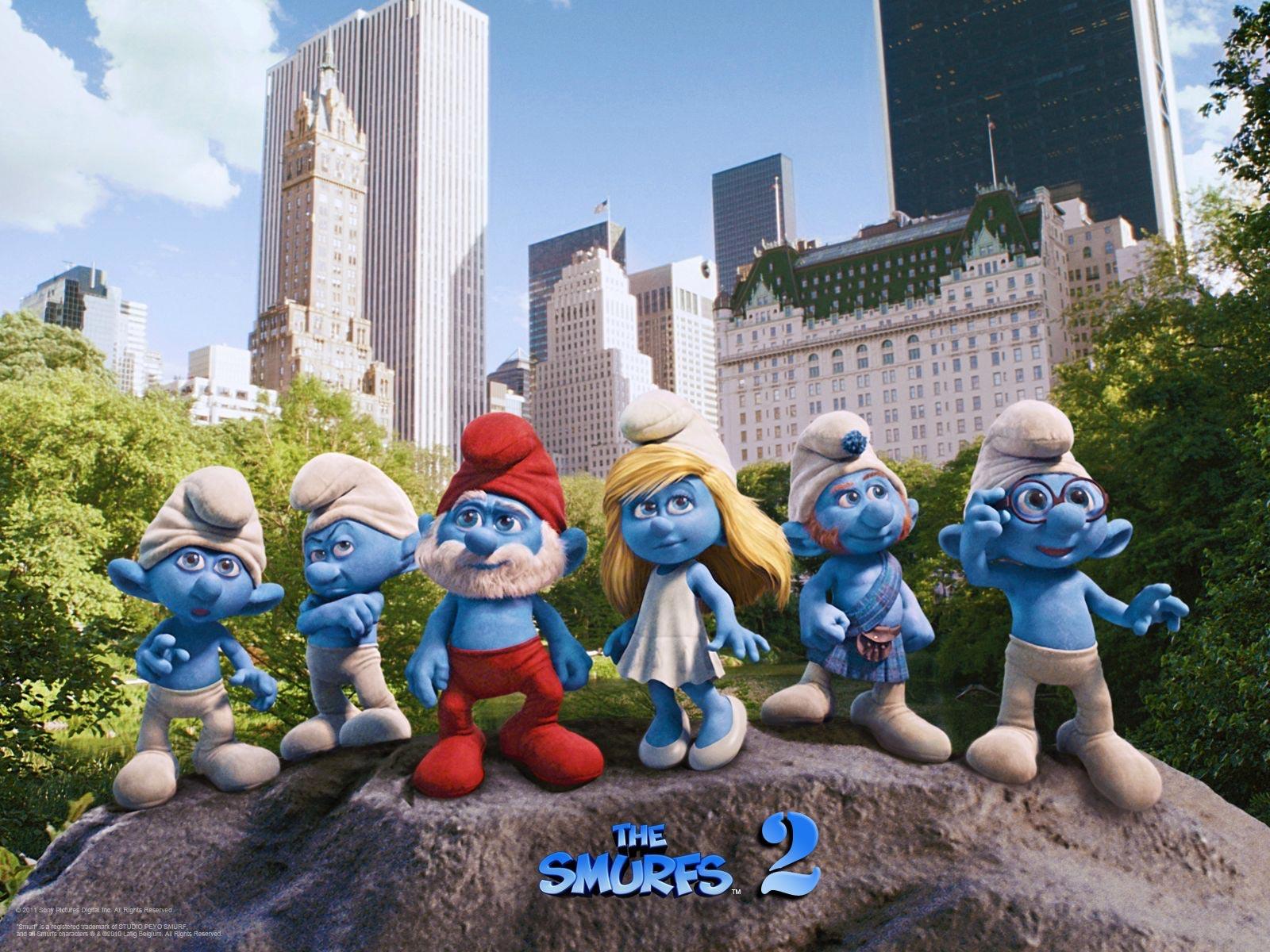 Production begins on the smurfs 2 plot details revealed