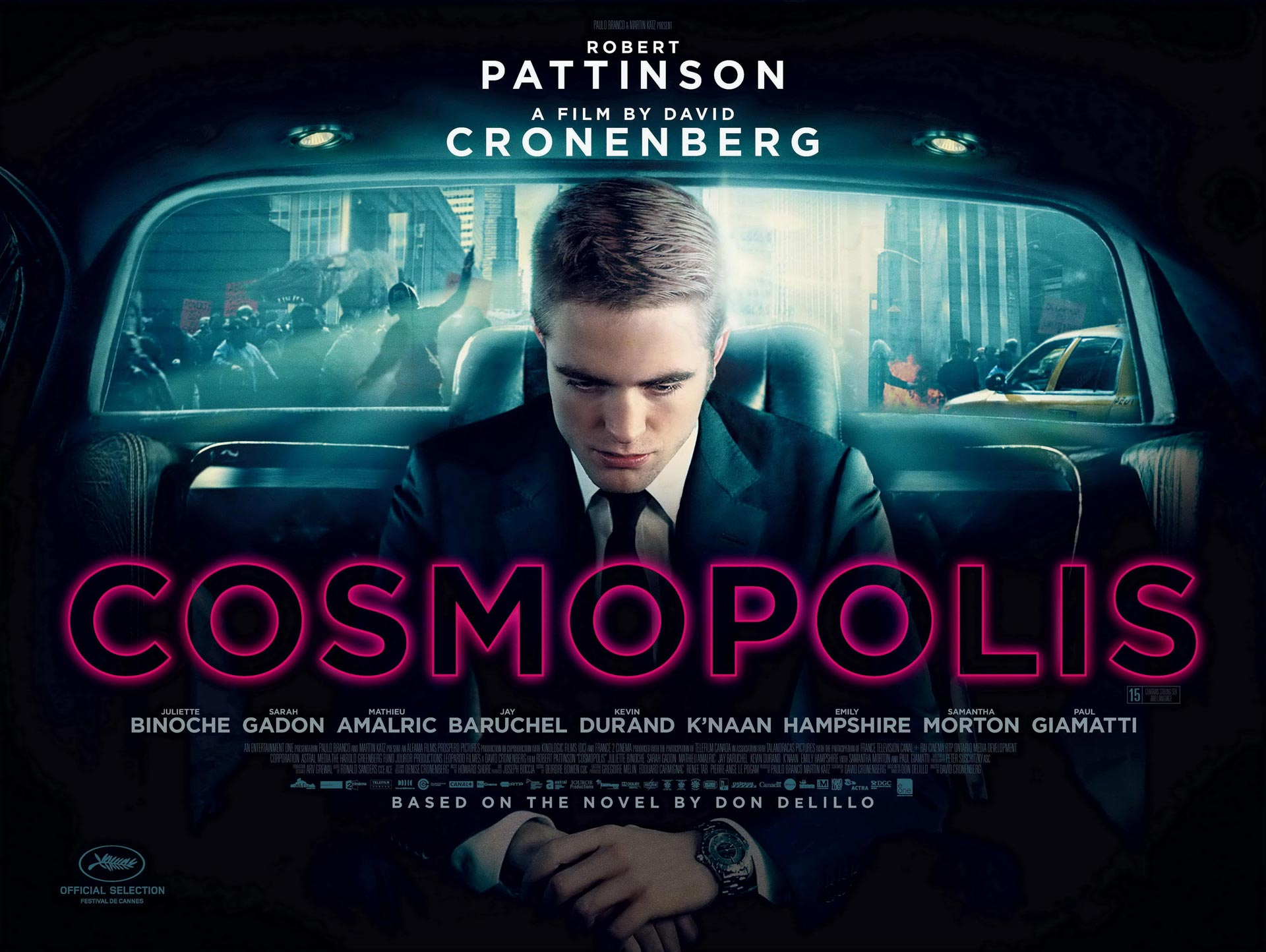 Weekly Movie Review: Cosmopolis, Total Recall (2012), Ted