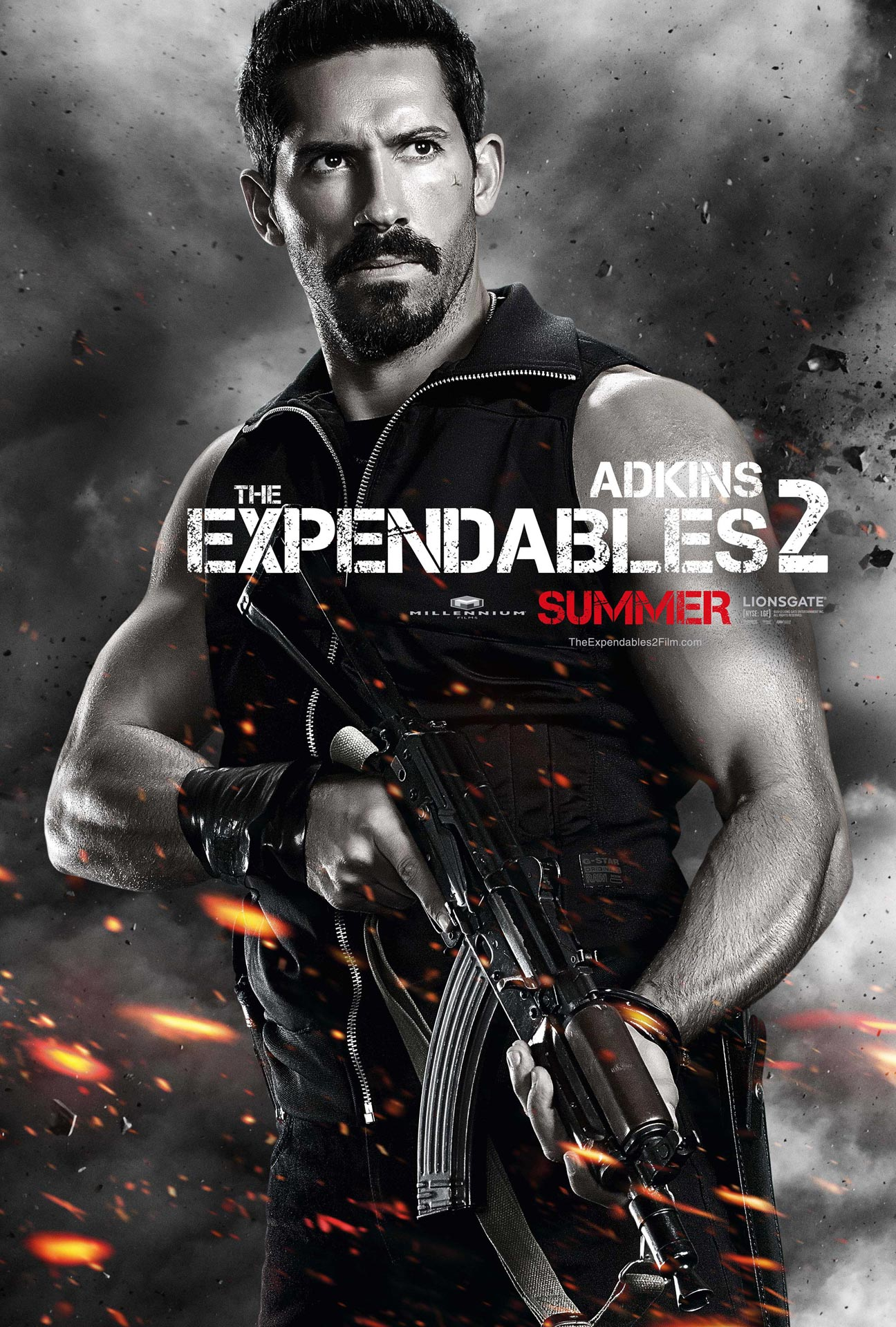 New THE EXPENDABLES 2 Character Poster: Scott Adkins is Lucky 13