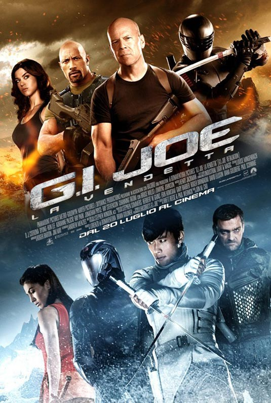 GI Joe 2: Retaliation Poster