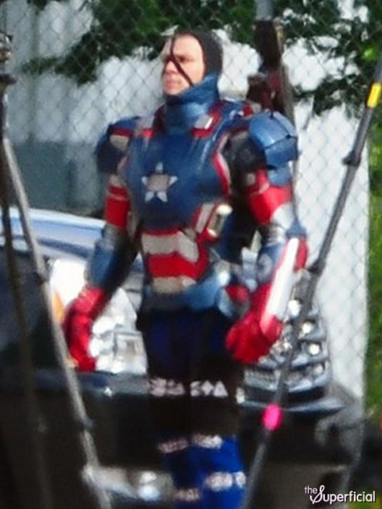 Iron Man 3 James Badge Dale in Iron Patriot Armor