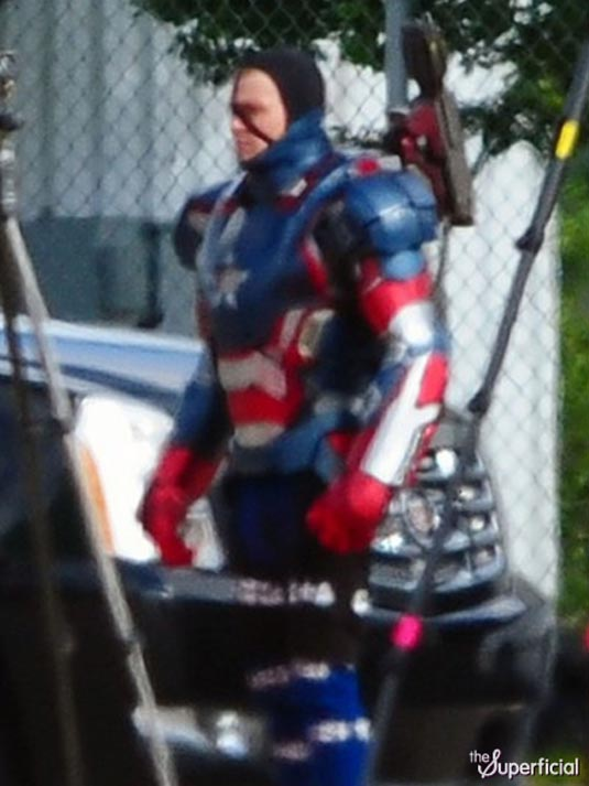 Iron Man 3 James Badge Dale in Iron Patriot Armor 2
