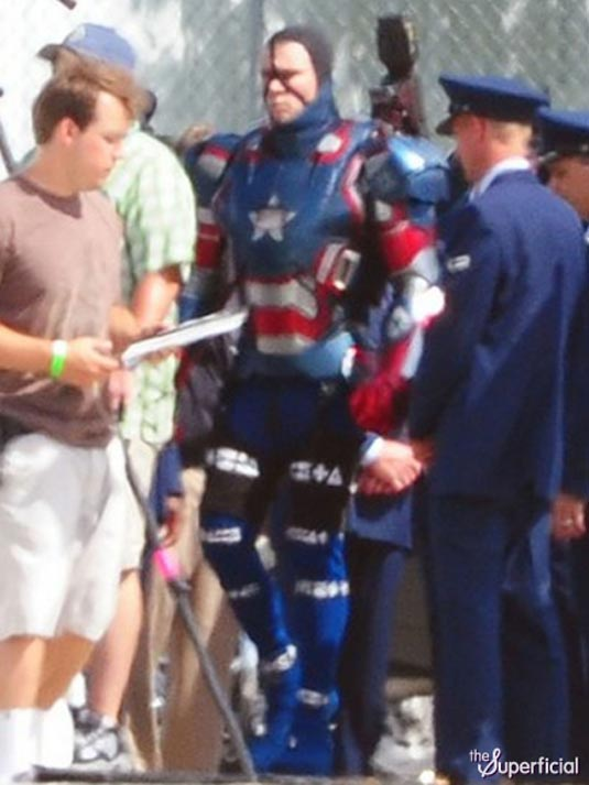 Iron Man 3 James Badge Dale in Iron Patriot Armor 3