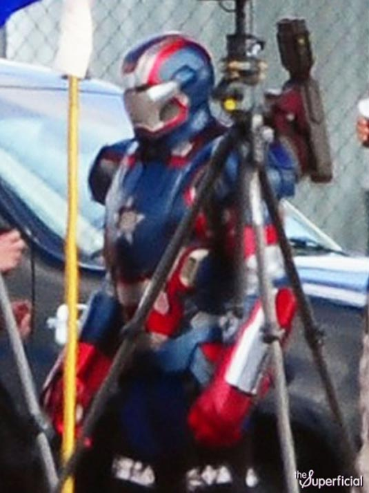 Iron Man 3 James Badge Dale in Iron Patriot Armor 4