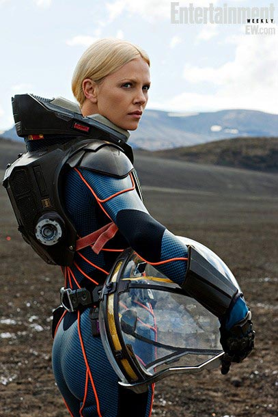 Charlize Theron, Prometheus