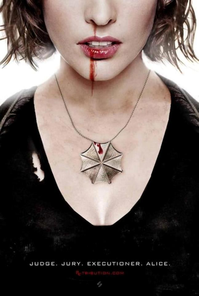 Resident Evil Retribution Poster