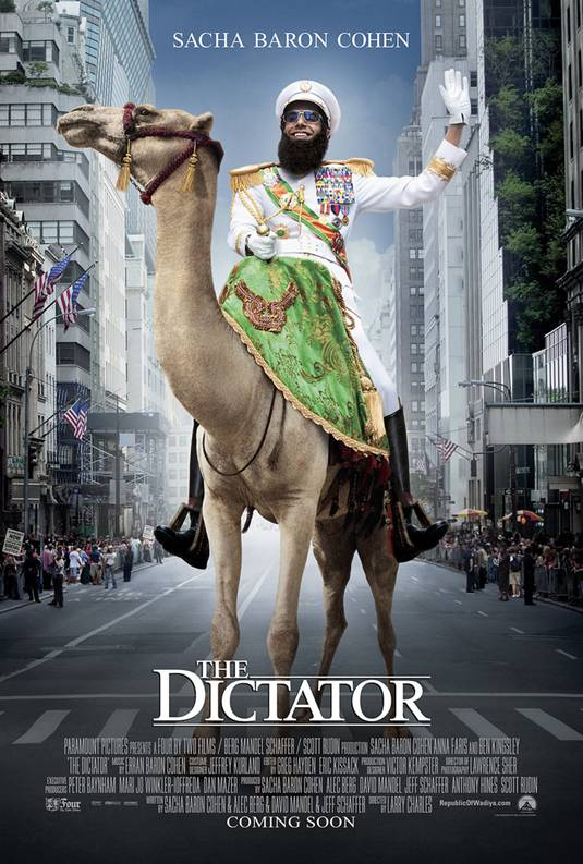 The Dictator_UK Poster