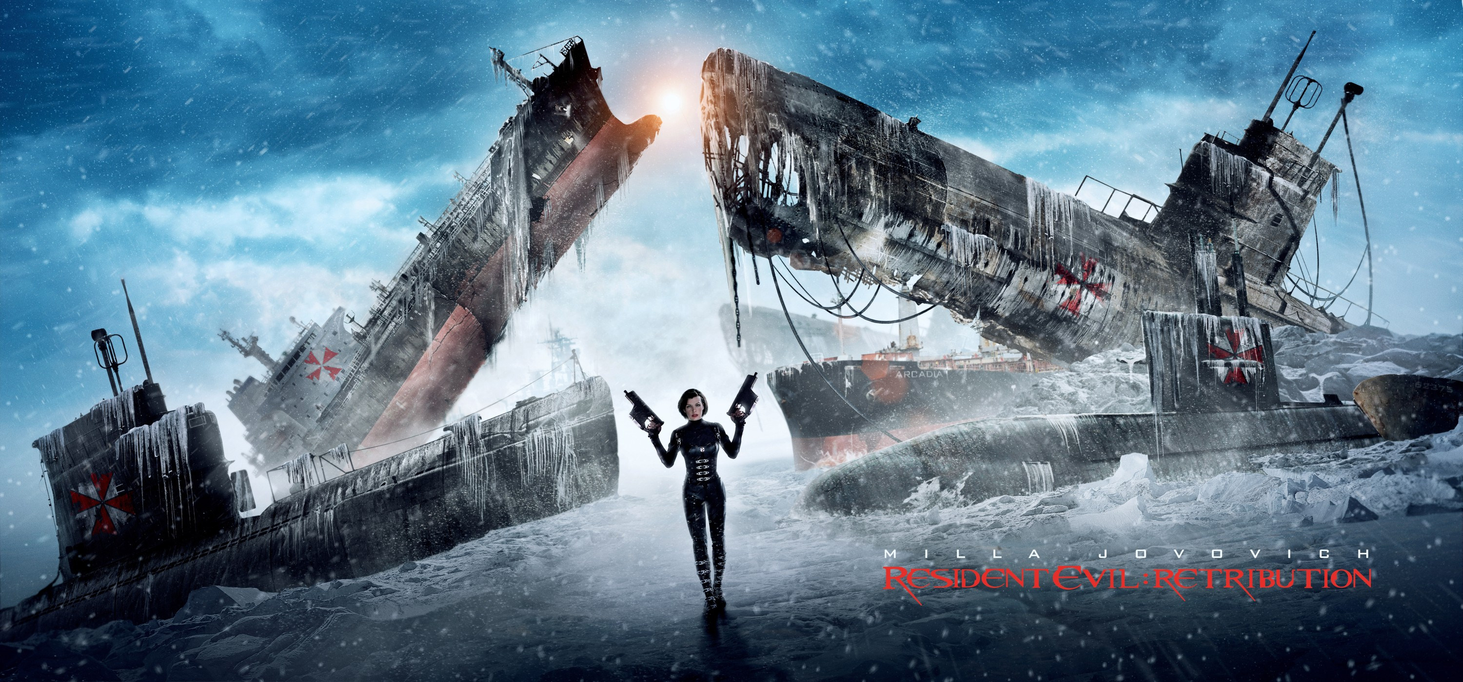 new resident evil retribution promo banners