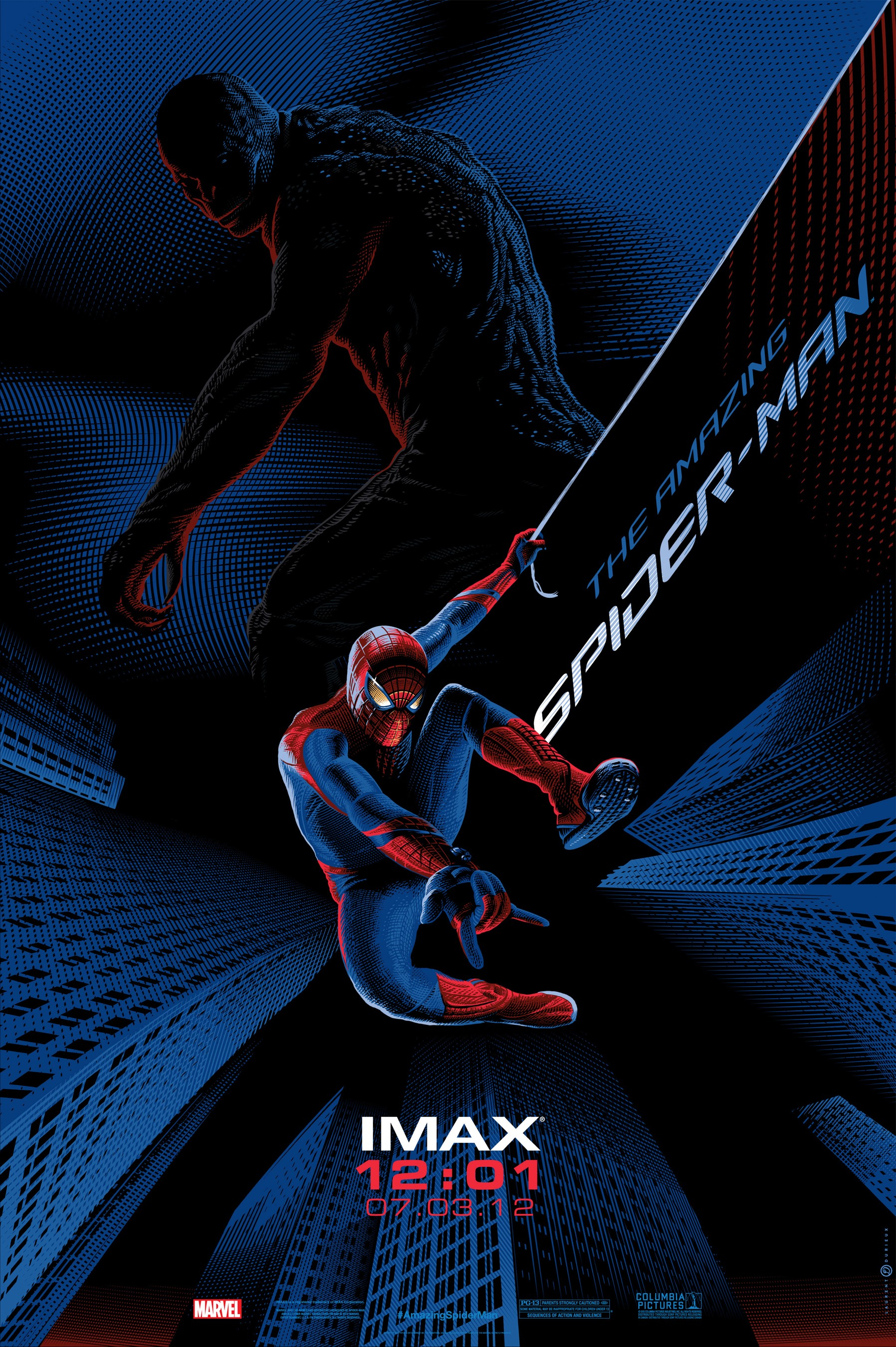 New The Amazing Spider-Man IMAX Poster