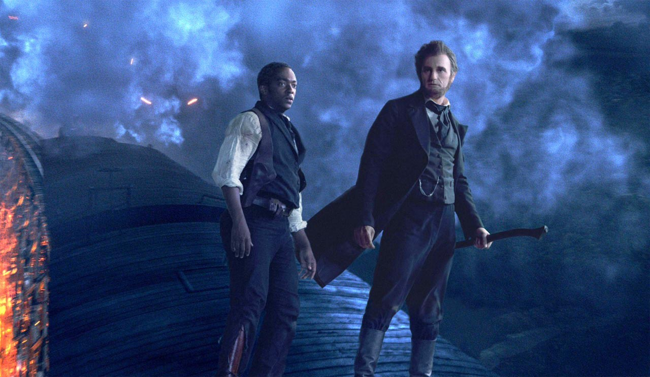 Grown Ups Wanted >> First ABRAHAM LINCOLN: VAMPIRE HUNTER Clip