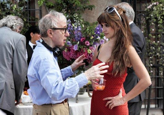 Woody Allen with Penelope Cruz