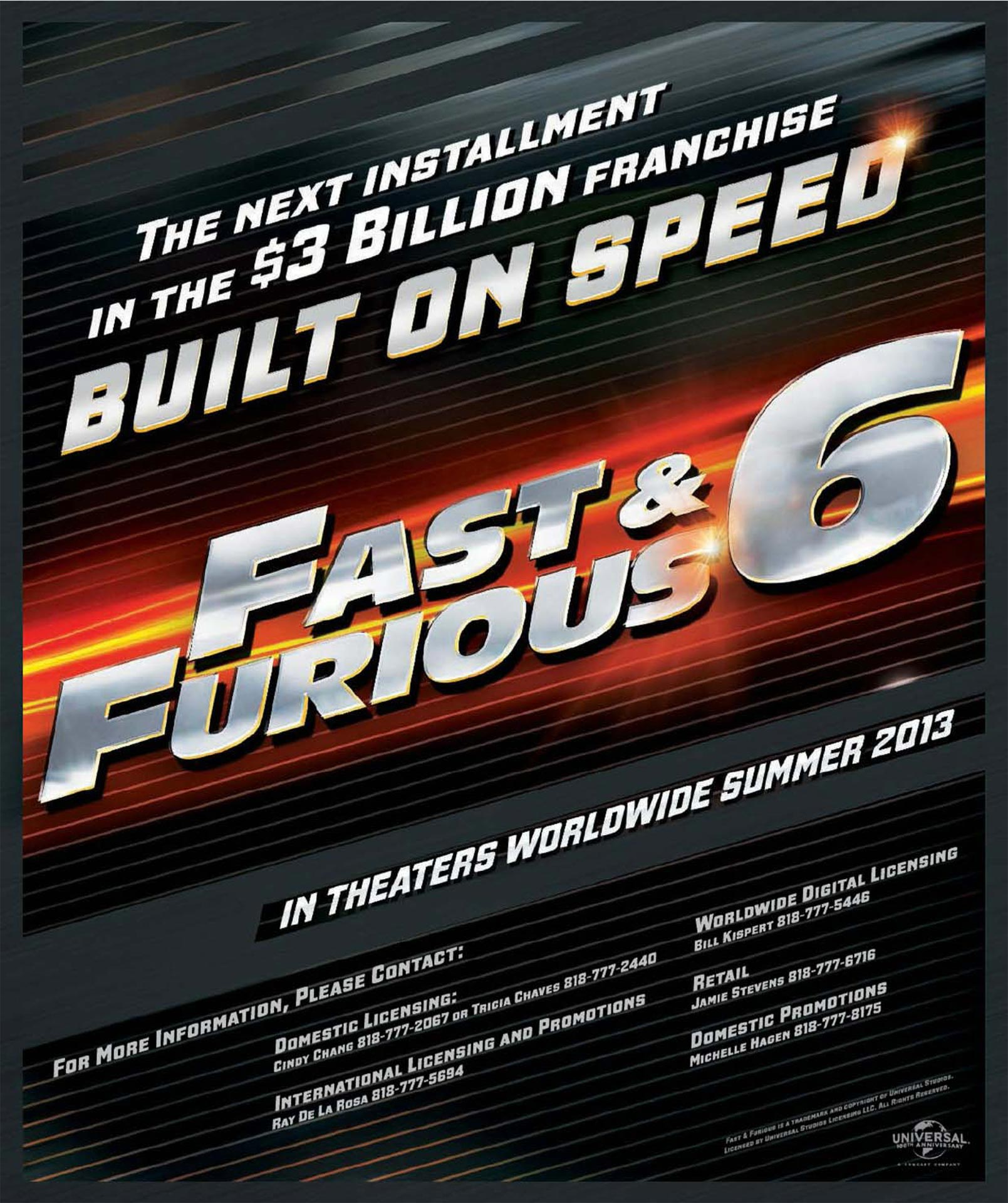 fast and furious 6 poster Official Trailer  Fast & Furious 6   Big Game Spot