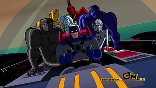 The Metal Men in Brave and Bold