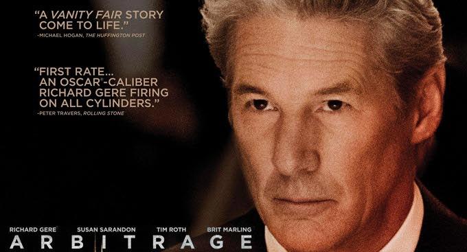 ARBITRAGE Poster Starring Richard Gere – FilmoFilia