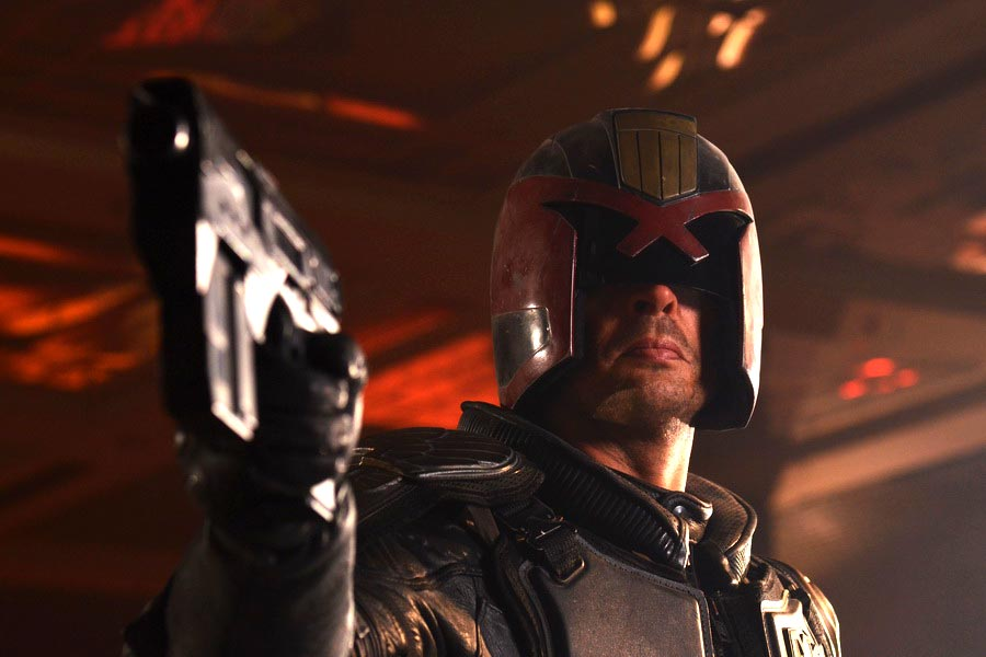 Dredd movie photo