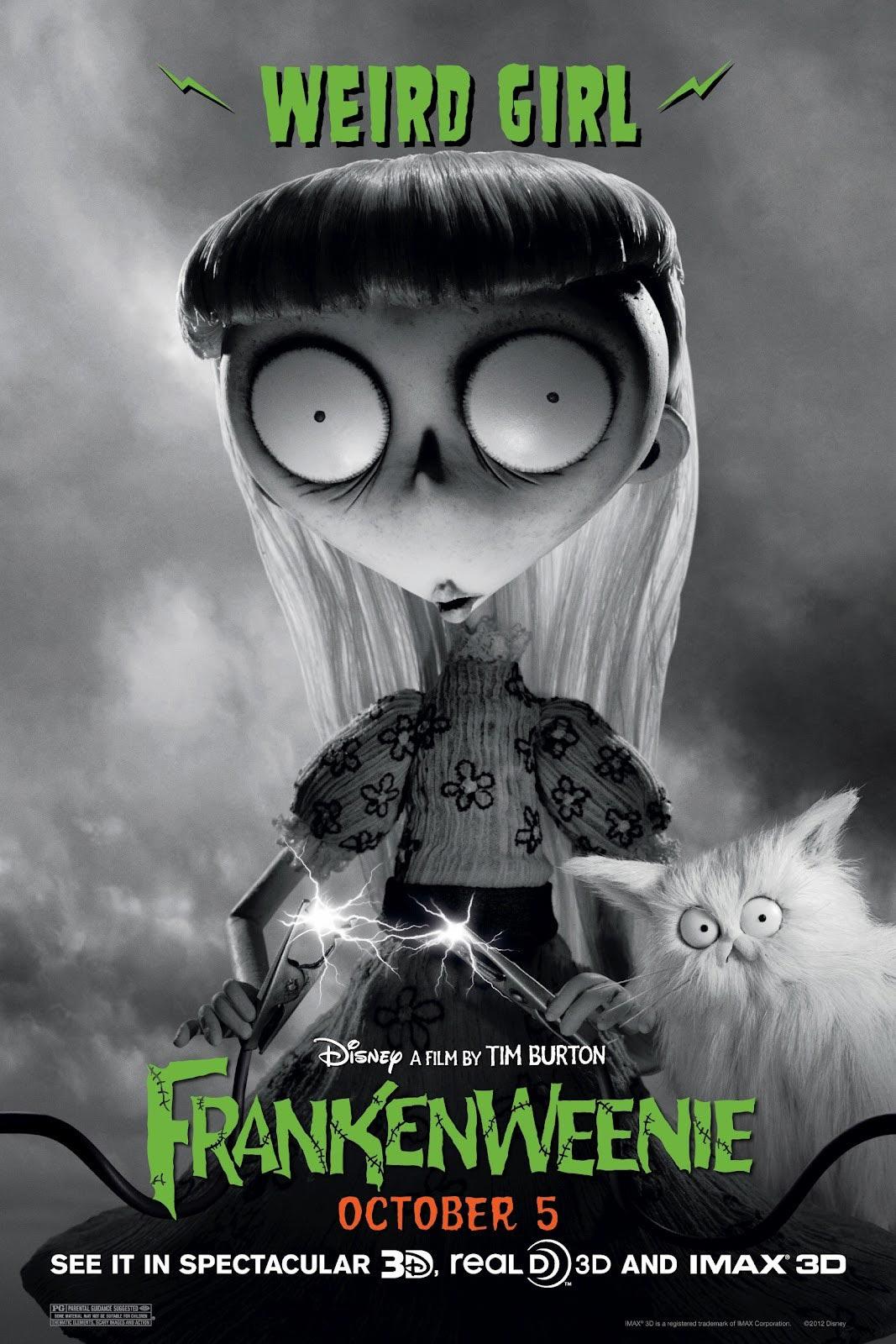 9 new frankenweenie character posters filmofilia