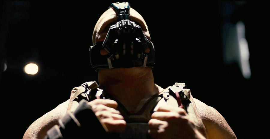 The Dark Knight Rises Bane Tom Hardy Bane Workout   Get Traps Like Bane