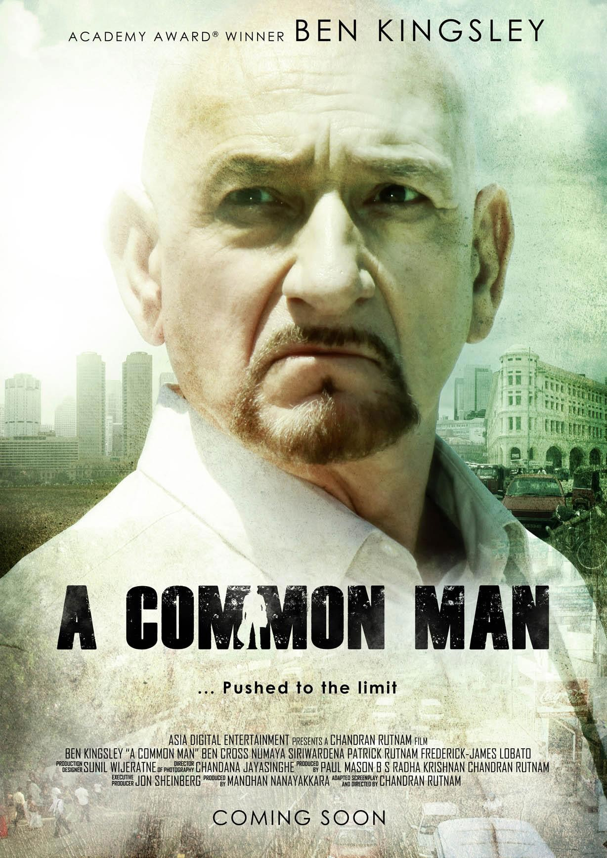 A COMMON MAN Trailer and Two Posters A Common Man