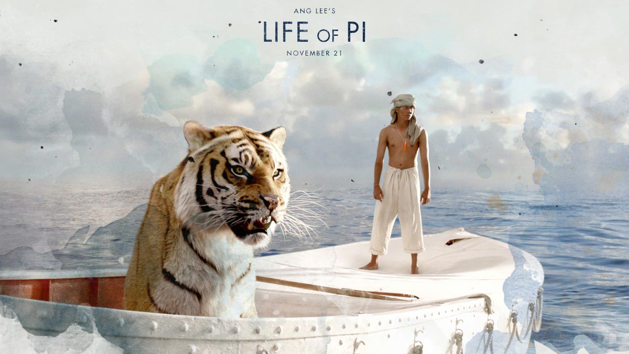 Life of pi poster and clip for Richard parker life of pi