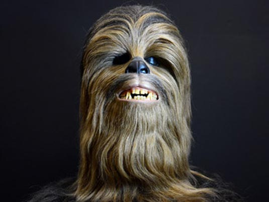 Original Chewie Headpiece